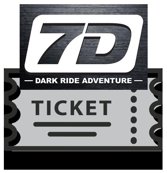 7D Dark Ride Adventure Online Ticket - Gatlinburg